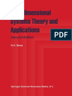 N. K. Bose, Multidimensional Systems Theory and Applications-Springer Netherlands (1995).pdf