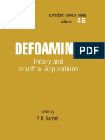 (Surfactant Science 45) Garrett, P.R - Defoaming _ Theory and Industrial Applications (2017).pdf
