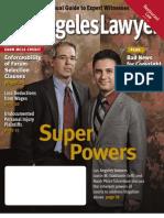 Los Angeles Lawyer - Nov. 2010 - Death of Copyright