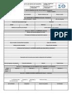 FR-In-010 Formato Acta de Inicio de Pasantia