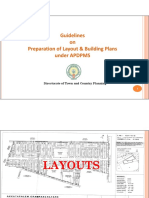 Guidelines for Preparation Layout- Building Plans in APDPMS