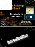 Pathologie de Fondations