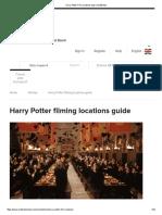 Harry Potter Film Locations Map _ VisitBritain