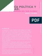 Economía política y penalidad