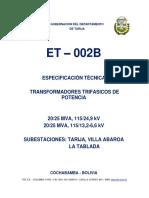 ET-002B Trafos TAR, ABA, TAB Dyn11-R1.docx