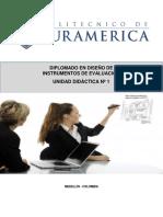 UNIDAD DIDÁCTICA 1 Diplomado Diseño Curricular Competencia