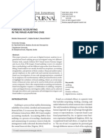 Forensic Accountingin the Fraud Auditing Case
