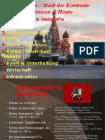 Moskau Stadt Der Kontraste