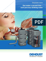 Dehoust Greywater Brochure - 2013