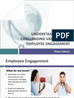 2015 June Understanding Employee Engagement Simon Hatson
