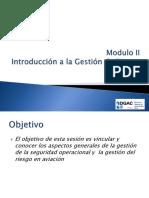 Modulo II - Introducción a La Gestion de Riesgo