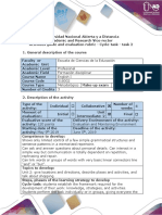 Activities Guide and Evaluation Rubric - Cycle-task - Task 2