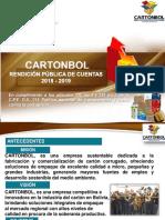 Cartonbol Rendicion 2018-2019