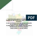 GEOPROCESSAMENTO E COMBATE AO TRABALHO EM CONDIÇÕES ANÁLOGAS AO DE ESCRAVO