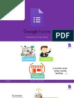 Guía de uso de Google Forms