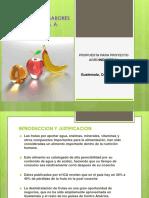 Powerpoint Deshitratadora Sabores Del Tropico Sa