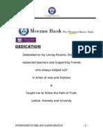 Meezan Bank Internship Report (1)