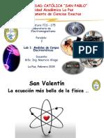 LAB 1 MEDIDAS DE CARGAS ELECTROSTATICAS FIS 275 1 2019.pptx