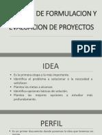 PROCESO DE FORMULACION Y EVALUACION DE PROYECTOS CLASE 04.pptx