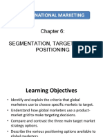 Chapter 6_Segmentation, Targeting and Positioning