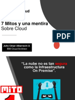 7 Mitos y Una Mentira Sobre Cloud