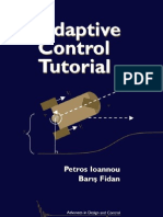 Adaptive Control Tutorial -SIAM