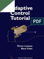 Adaptive Control Tutorial -SIAM