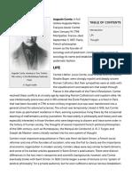 Auguste Comte -- Britannica Online Encyclopedia
