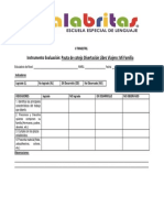 II TRIMESTRE Cotejo Disertacion