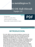 EQUIPO N°8 - PROCESO HALL-HEROULT