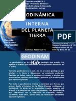 Geodinámica interna del planeta tierra