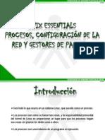 PRESENTACIÓN_UNIX ESSENTIALS_MANEJANDO PROCESOS_CONFIGURACIÓN DE RED Y_GESTORES DE PAQUETES_LARED38110