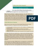 Ethics in Sales & Sales Management