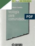 castillo, jose maria - teologia para comunidades.pdf