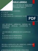 ESCUELAS JURIDICAS