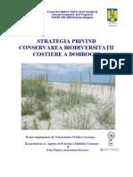 Strategia de Conservare a Biodiversitatii Costiere