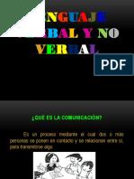 Ppt Lenguaje Verbal y No Verbal (1)