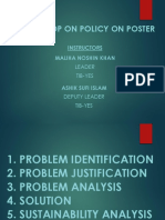 Workshop Slide on policy