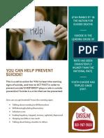 suicide public service campaign revised