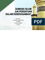 Bagaimana Islam Membangun Persatuan Dalam