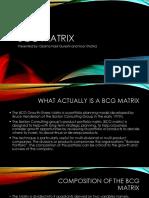 BCG Matrix1
