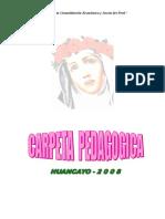 Carpeta Pedagógica II i.e. Rosa de América