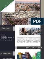 1.1 Planes Urbanos y Su Jerarquía