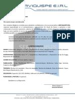 Carta de Presentacion Serviquispe Mannucci Diesel