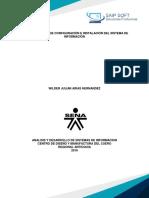 Determinacion de Configuracion e Instalacion Del Sistema de Informacion