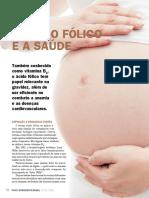 ÁCIDO FÓLICO PARA A SAÚDE