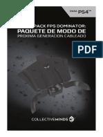 Cm Strikepack Fps Ps4 Manual