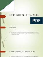 DEPÓSITOS LITORALES