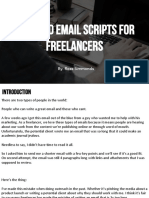 Email Scripts Freelance 2019 Edition 1