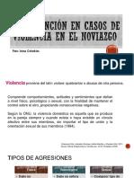Intervención en Casos de Violencia en El Noviazgo
